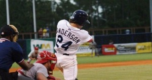 Drew Anderson swings for the fences…