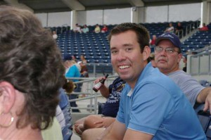 Patrick McMaster, Stone Crabs Corporate Partnership Manager.