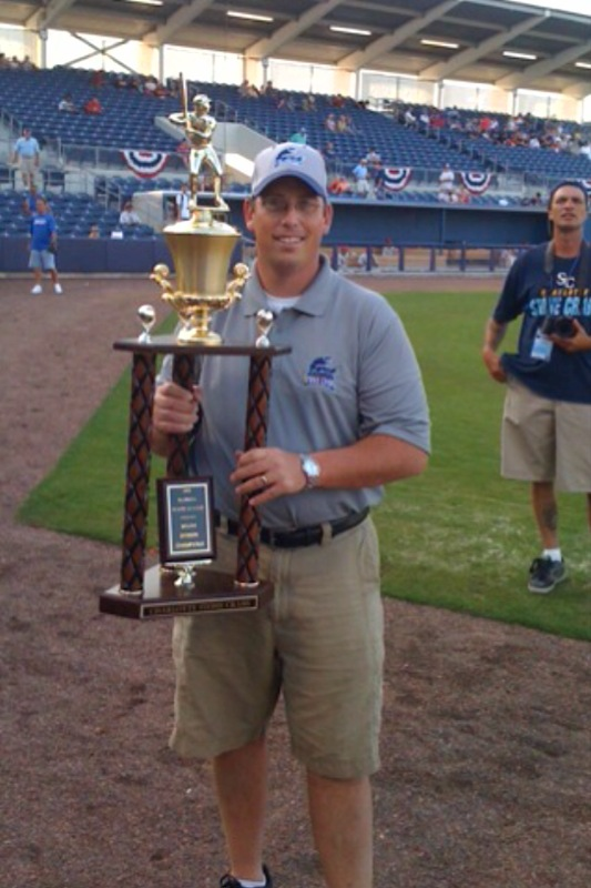 Charlotte Stone Crabs FSL South Div Champ Trophy