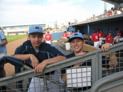 Austin and Kyle, Stone Crabs ballboys