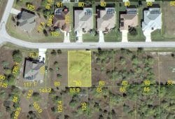 South Gulf Cove building lot Avery Rd