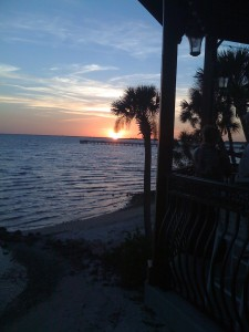 Oakland Hills is an easy drive to unspoiled Englewood Beach where the sunsets are incredible.
